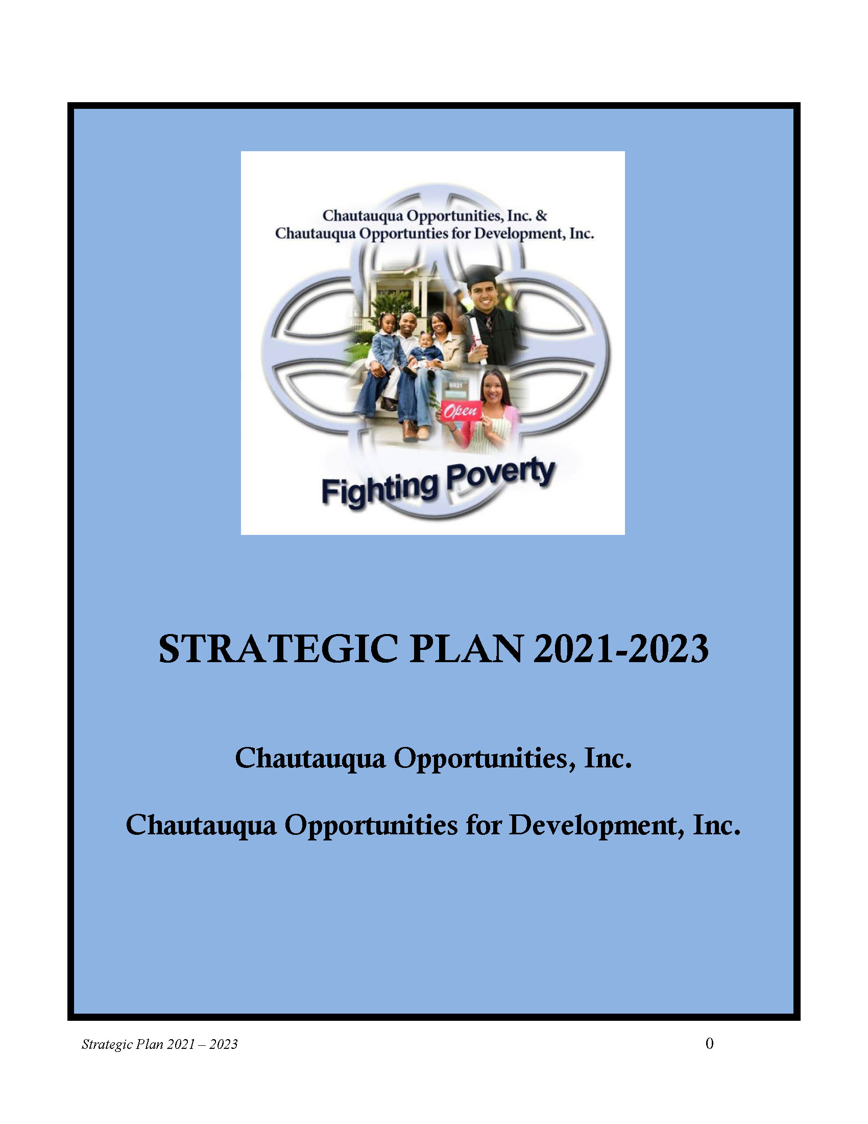 Strategic Plan 2021-2023